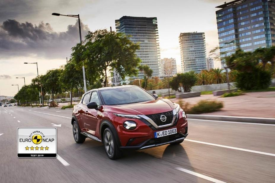 Uus Nissan JUKE sai Euro NCAPi 2019. aasta parima ohutushinnangu